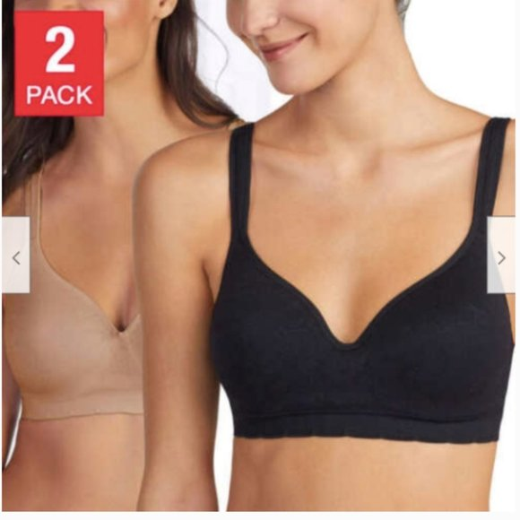 carole hochman Other - Carole Hochman Women's Ladies' Seamless Bra, 2-pac